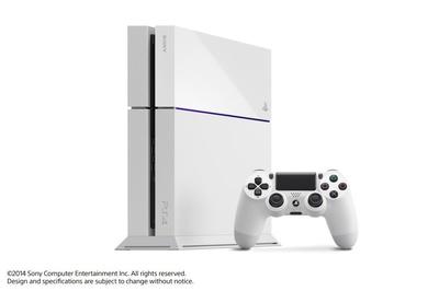 PS4ホワイトのサムネイル画像