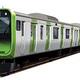 この秋デビューの新型JR山手線「E235系」が新潟の新津で目撃される!できたてほやほや写真