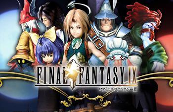 FF9ロゴとキャラクターのサムネイル画像