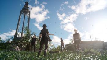 FF15草原と空