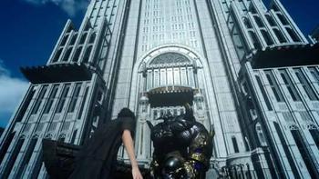 FF15都庁と鉄巨人のサムネイル画像