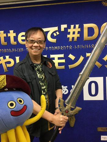 堀井雄二さん