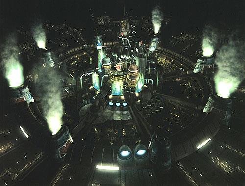 写真=東京ミッドガル上空から