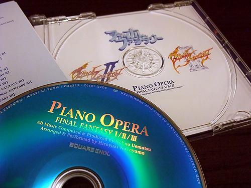 PIANO OPERA FINAL FANTASY 1/2/3